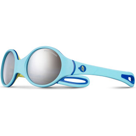 Julbo Loop Spectron 4 Sunglasses Baby 2-4Y Sky Blue/Yellow/Blue-Gray Flash Silver